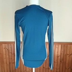 adidas Tops - Blue Adidas ClimaCool Compression Shirt sz Large